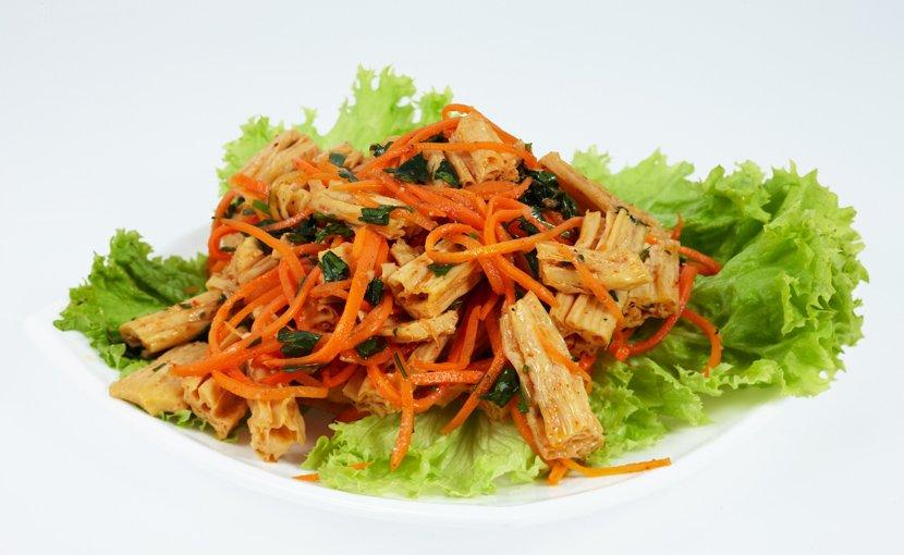 Как из сухой спаржи сделать салат
