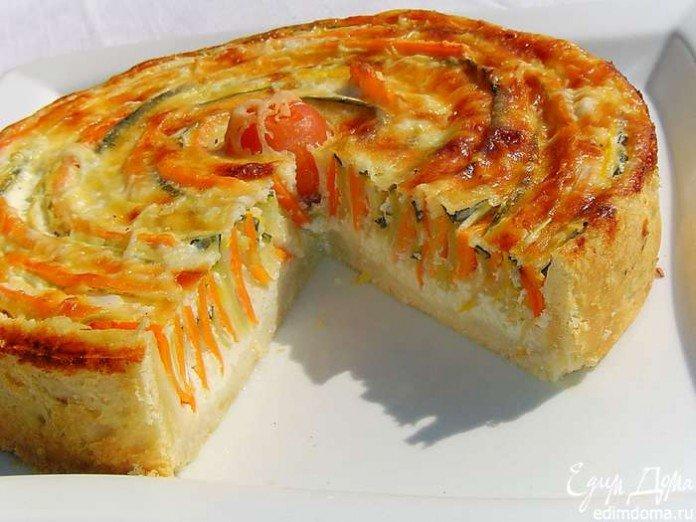 Овощные пироги рецепты 27