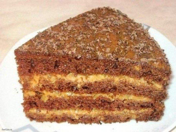 Торт улыбка негра рецепт с фото пошагово